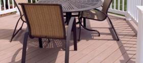 Maintenance free deck builders