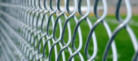 Maintenance free chain link fence