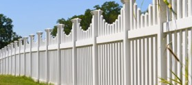 Maintenance free residential fences