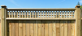 Sturdy, wood fences professionally installed